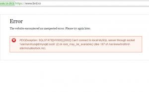 Eroare myBRD Net, myBRD Mobile, BRD, site BRD
