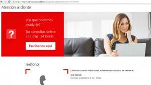 Santander banca