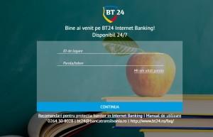 BT24 Internet Banking Banca Transilvania